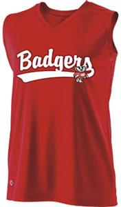 Holloway Ladies/Girls Collegiate Wisconsin Jersey