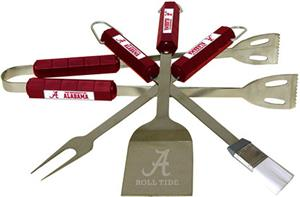 COLLEGIATE Alabama 4 Piece BBQ Set