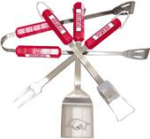 COLLEGIATE Arkansas 4 Piece BBQ Set
