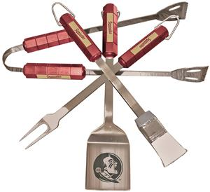 COLLEGIATE Florida State 4 Piece BBQ Set