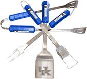COLLEGIATE Kentucky 4 Piece BBQ Set