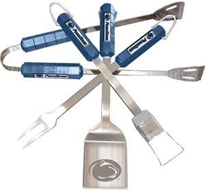 COLLEGIATE Penn State 4 Piece BBQ Set
