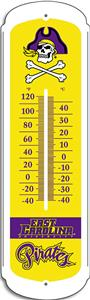 "COLLEGIATE East Carolina 27"" Outdoor Thermometer"