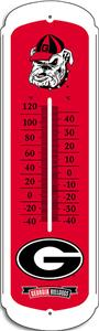 "COLLEGIATE Georgia 27"" Outdoor Thermometer"