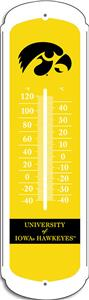 "COLLEGIATE Iowa 27"" Outdoor Thermometer"