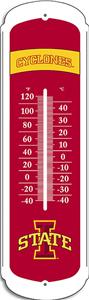 "COLLEGIATE Iowa State 27"" Outdoor Thermometer"