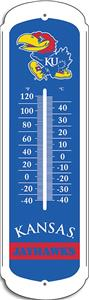 "COLLEGIATE Kansas 27"" Outdoor Thermometer"