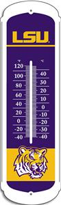 COLLEGIATE LSU 27&quot; Outdoor Thermometer