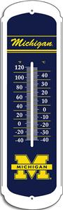 "COLLEGIATE Michigan 27"" Outdoor Thermometer"
