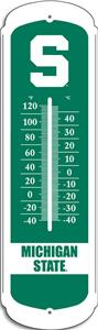 "COLLEGIATE Michigan State 27"" Outdoor Thermometer"