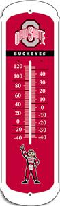 "COLLEGIATE Ohio State 27"" Outdoor Thermometer"