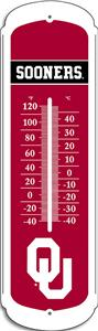 "COLLEGIATE Oklahoma 27"" Outdoor Thermometer"