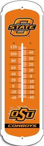 "COLLEGIATE Oklahoma State 27"" Outdoor Thermometer"