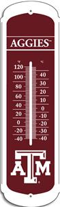 "COLLEGIATE Texas A&M 27"" Outdoor Thermometer"