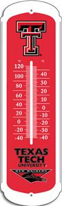 "COLLEGIATE Texas Tech 27"" Outdoor Thermometer"