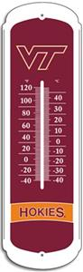 COLLEGIATE Virginia Tech 27&quot; Outdoor Thermometer