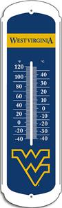 "COLLEGIATE West Virginia 27"" Outdoor Thermometer"