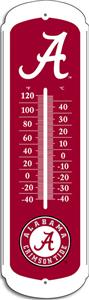 "COLLEGIATE Alabama 12"" Outdoor Thermometer"