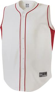 Holloway Fierce Faux Full Button Baseball Jersey