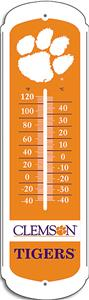 COLLEGIATE Clemson 12&quot; Outdoor Thermometer