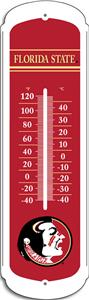 "COLLEGIATE Florida State 12"" Outdoor Thermometer"