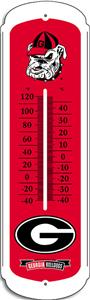COLLEGIATE Georgia 12&quot; Outdoor Thermometer