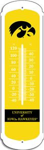 "COLLEGIATE Iowa 12"" Outdoor Thermometer"