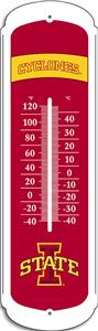 "COLLEGIATE Iowa State 12"" Outdoor Thermometer"