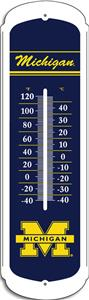 "COLLEGIATE Michigan 12"" Outdoor Thermometer"