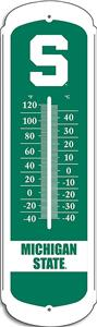 "COLLEGIATE Michigan State 12"" Outdoor Thermometer"