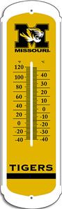 "COLLEGIATE Missouri 12"" Outdoor Thermometer"