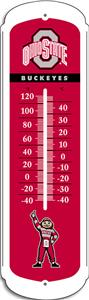 "COLLEGIATE Ohio State 12"" Outdoor Thermometer"