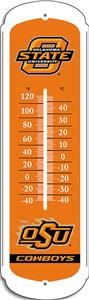 "COLLEGIATE Oklahoma State 12"" Outdoor Thermometer"