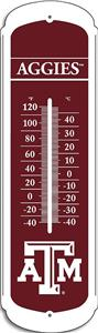 "COLLEGIATE Texas A&M 12"" Outdoor Thermometer"