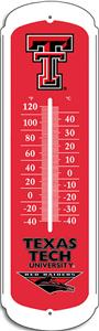 "COLLEGIATE Texas Tech 12"" Outdoor Thermometer"