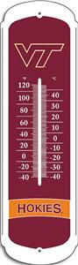 "COLLEGIATE Virginia Tech 12"" Outdoor Thermometer"