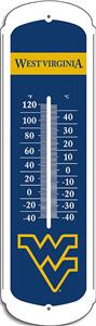 "COLLEGIATE West Virginia 12"" Outdoor Thermometer"