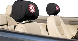 COLLEGIATE Alabama Headrest Covers - Set of 2