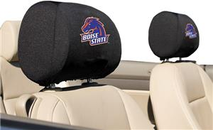 COLLEGIATE Boise State Headrest Covers - Set of 2