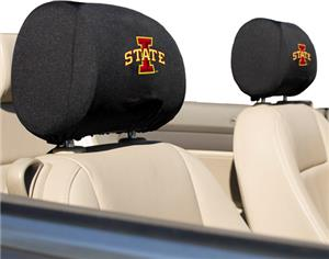 COLLEGIATE Iowa State Headrest Covers - Set of 2