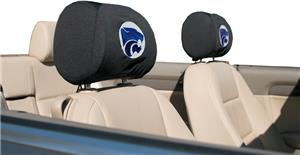 COLLEGIATE Kansas State Headrest Covers - Set of 2