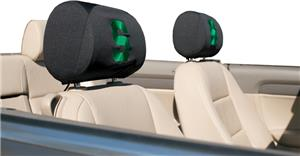COLLEGIATE Michigan St. Headrest Covers - Set of 2