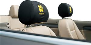 COLLEGIATE Notre Dame Headrest Covers - Set of 2