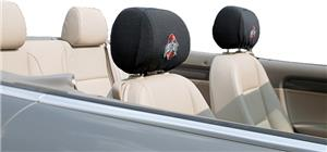 COLLEGIATE Ohio State Headrest Covers - Set of 2