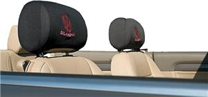 COLLEGIATE Oklahoma Headrest Covers - Set of 2
