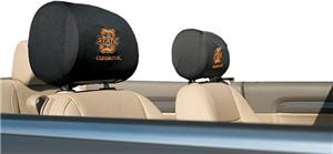 COLLEGIATE Oklahoma St. Headrest Covers - Set of 2