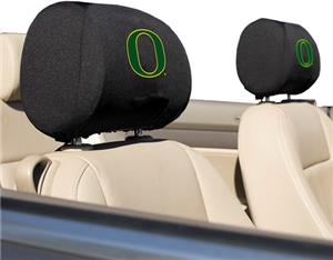 COLLEGIATE Oregon Headrest Covers - Set of 2