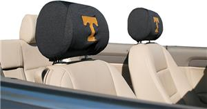 COLLEGIATE Tennessee Headrest Covers - Set of 2