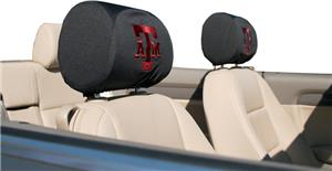 COLLEGIATE Texas A&M Headrest Covers - Set of 2
