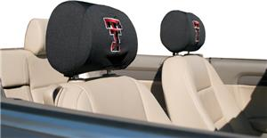 COLLEGIATE Texas Tech Headrest Covers - Set of 2